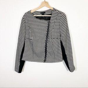 Lane Bryant l Houndstooth Blazer Jacket